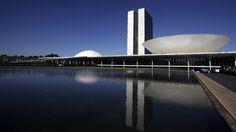 Architekt, Architektur, Oscar Niemeyer, Nationalkongress in Brasilia