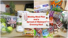 Weekly Meal Plan and Grocery Haul | Sprouts & Walmart