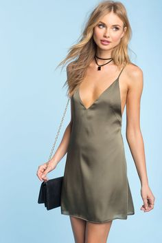 Jolie Satin Slip Dress                                                                                                                                                                                 More