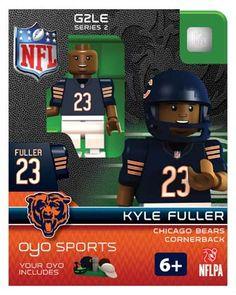 #23 Kyle Fuller Chicago Bears Cornerback-Limited Edition OYO minifigure