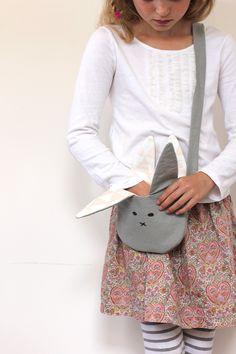 diy bunny purse sewing - aww!