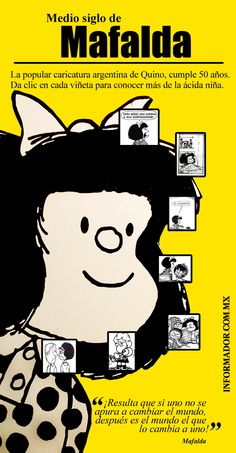 Las tiras de Quino se han traducido en al menos 30 idioma... - ThingLink