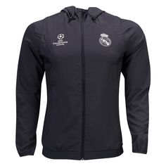 Real Madrid Europe Presentation Jacket     UEFA Champions League jerseys  and apparel at WorldSoccerShop 6901afad8b75e