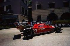 f1pictures:    Gilles Villeneuve Ferrari Monaco 1981