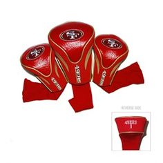 San Francisco 49ers Contour Gollf Club HeadCover - 3 Pack