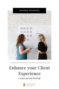 A clear and positive customer service experience can become the life and growth of your business. Here's how to do that. | Brooke Olsen Co. | #businesstips #clientexperience #brookeolsenco Start Up Business, Business Planning, Business Tips, Online Business, Business Education, Business Entrepreneur, Customer Service Experience, Photography Business, Pinterest Marketing
