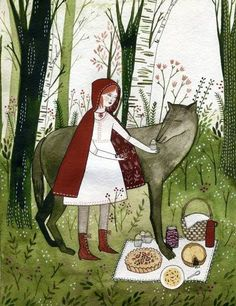 Little Red Riding Hood: Yelena Bryksenkova
