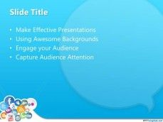 this one is nice for social networking sites' powerpoint template :)
