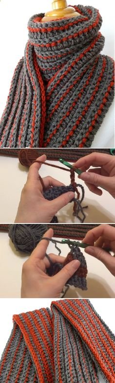 Learn to Crochet The Every Man Scarf