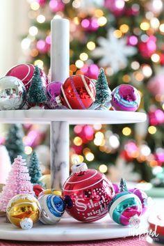 Holiday Centerpiece Ideas - Dining Room Christmas Decor - Christmas Tablescape