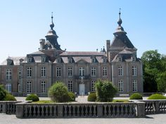 Modave Castle, Modave, 16 km from Durbuy (province of Luxembourg), Belgium