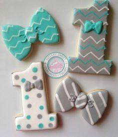 Image of Dapper Little Man Cookies (12Cookies)
