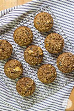 Easy Bran Muffins | Weight Watchers 1 point!