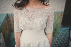 pretty lace cover-up