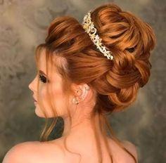 Para seeing that cacheadas age crespas, dormir sem desmanchar os in this handset cachos parece Hairdo Wedding, Bridal Hair Updo, Trendy Hairstyles, Girl Hairstyles, Wedding Hairstyles, Red Hair Woman, Quinceanera Hairstyles, Natural Hair Styles, Long Hair Styles