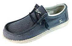 Bootsschuhe Herren, color Blau , marca HEY DUDE, modelo Bootsschuhe Herren HEY DUDE SASHA Blau - http://on-line-kaufen.de/hey-dude/45-eu-bootsschuhe-herren-farbe-blau-marke-hey-dude
