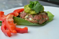 Makes 4 burgers.  Combine with our guacamole recipe�or any other side dish.  Approximate cooking time: 20 minutes