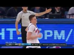 Kristaps Porzingis 16 points, 4 Blocks Highlights vs  the Spurs   Spurs ...