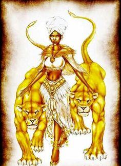 me & my babies Lion Tamer, Divine Feminine, Black People, Cat Lady, Black History, African, Princess Zelda, Cats, Illustration
