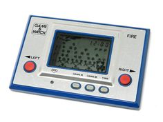 Nintendo Game & Watch Silver Series Fire RC-04 MIJ 1980 Great Condition_08 #Nintendo