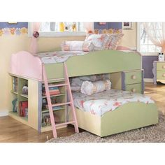 Doll House Complete Loft Bed Give your child the bedroom they have been dreaming of!
