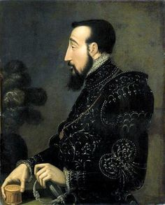 Henry II of France Henri II, roi de France Anonymous, musée Condé, Henri Ii France, Adele, Roi George, Historical Art, Historical Clothing, Italian Paintings, Francis I, King Charles, King Henry