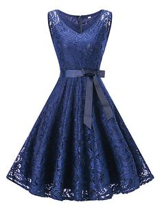 671e80bdb4f24 Women s Plus Size Party   Holiday   Going out Vintage   1950s A Line Dress -