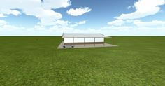 Dream #steelbuilding built using the #MuellerInc web-based 3D #design tool http://ift.tt/1P3KjDz