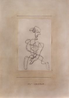 Paul Klee Analysis of a Moment (Analyse eines Momentes), 1931 Ink and graphite on sketch paper mounted on cardboard