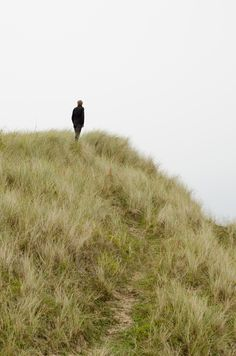 """A slightly used grassy path...on the edge of a hill...great place to get away for some """"Me Time""""."""