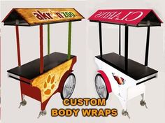 Possible kiosk cart idea for EZ-Carts...custom branded food, coffee and retail units.