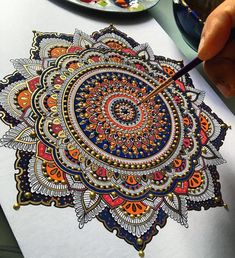 Whaline 6 pack mandala dotting stencils mylar painting templates for rock painting furniture cards canvas wood, Mandalas Painting, Mandalas Drawing, Mandala Artwork, Painting Templates, Rock Painting Patterns, Dot Art Painting, Mandala Design, Mandala Dots, Adult Coloring Pages