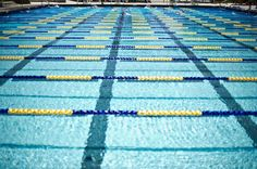 Open-Water Training In The Pool.  #Ironman races are not started with lane lines so using these tips will help in the open water.