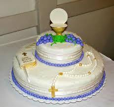 Resultado de imagen para pastel de primera comunion de niño