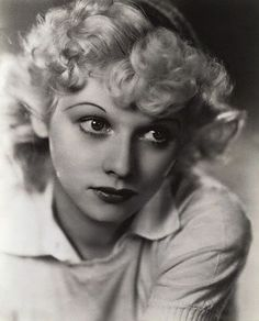 Image Detail for - ... these old photos of a young lucille ball and try not to drool too much