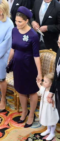 Baptism of Prince Nicolas at the Royal Chapel in Drottningholm Palace on October 11, 2015.