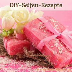 Seife herstellen - Seifen-Rezept: Einfache Seife selber machen - Nur drei Zutaten sind für eine einfache, selbst gemachte Seife nötig ...