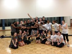 #myzumbaparty. Here's my class at West Virginia University!! - @K_dot_Cueva