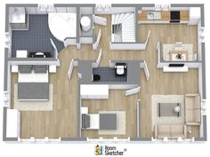 Pro 1576364 blueprint property services baltimore md 21218 upload a blueprint today and youll get high quality 2d 3d floor plans back within 24 hours with the roomsketcher ready made floor plan service malvernweather Images