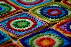 Circle of Friends Blanket - free pattern on Ravelry