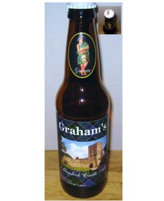 Graham's Mugdock Castle Ale Bottle Scotland by OldScottishMountain, $19.99