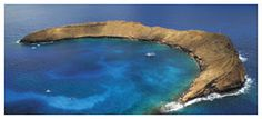 Molokini Crater near Maui-hoping to snorkel/snuba here in a week!