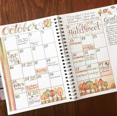 Inspirations automnales pour votre Bullet Journal ! Inspiration Automne Bullet Journal