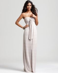 Splendid Dress - Venice Stripe Maxi Dress