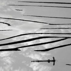 boat sailing clouds - CHI Haibo