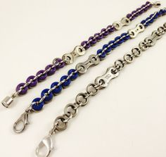 FREE SHIPPING Bike chain jewelry/Great Christmas by LINKSbyAnnette