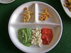 Fußball Snack mit Dipp Italia :-) oder doch Deutschland, oder... Ethnic Recipes, Food, Italia, Football Snacks, Homemade, Germany, Food Food, Simple, Recipies