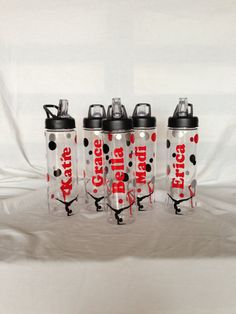 Personalized Water Bottles   Great Team gifts