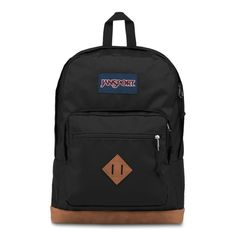 With its premium synthetic leather bottom, the CITY VIEW backpack from JANSPORT gives you a cool vintage look. Capacity of Dimensions x x All JANSPORT backpacks are guaranteed for life. Jansport Backpack, Laptop Backpack, Black Backpack, Backpack Reviews, Backpack Online, School Backpacks, Baby Clothes Shops, Laptop Sleeves, Decks