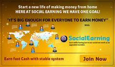 Geld verdienen im Internet: SocialEarning - BRANDNEU - Adshare und Matrix-Programm von Carl Pearson